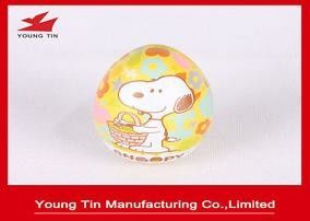 Candy Sweets Packaging Egg Tin Box , Full Color CMYK Printed Easter Tins 0.23 MM